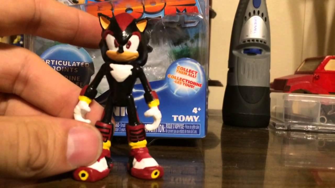 Sonic Boom Shadow Custom Figure Youtube