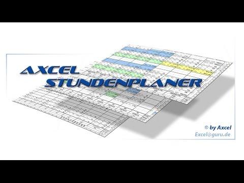Axcel Scheduler - The scheduler for schedule planning in schools (Part 1)