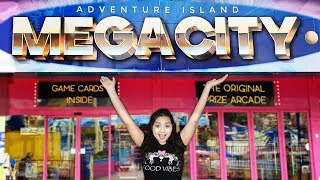 Let's explore the MEGACITY Arcade at Adventure Island in Southend, England!