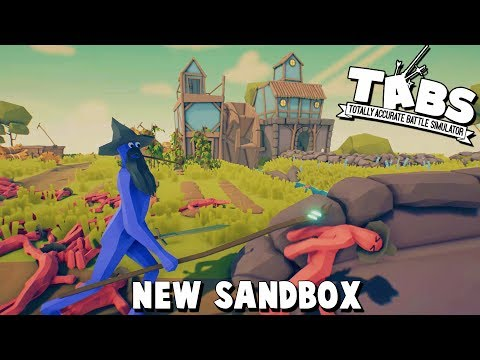TABS New Update Custom Battles!  (Totally Accurate Battle Simulator New Farmer Faction Sandbox Game)