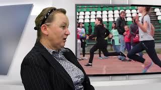 Интервью в студии. Заслуженный тренер Абхазии по легкой атлетике Лолита Назарс