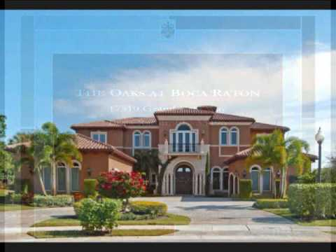 Boca Raton Luxury Real Estate | The Oaks at Boca Raton | 17510 Grand Este Way ...
