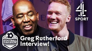 Robbie Lyle Talks with Olympian Greg Rutherford about Manchester Utd!   The Real Football Fan Show