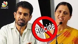 Vijay Antony and Devayani about Ashok kumar death | Producer Anbu Chezhian Financier | Suicide Case thumbnail