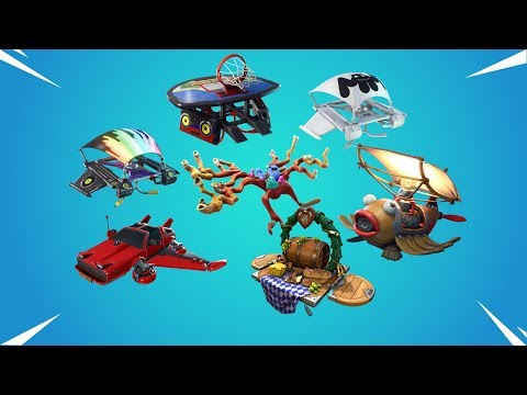 All Fortnite Gliders Which Play Music!