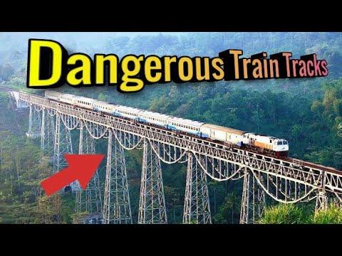 Top 10 Most Dangerous Train Tracks in The World || दुनिया के 10 सबसे खतरनाक रेलवे ट्रैक ||