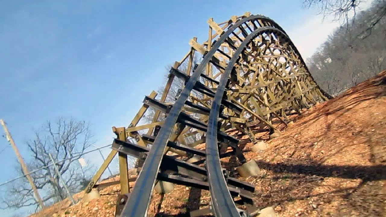 outlaw run front seat on ride hd pov silver dollar city roller coaster clip art yeti roller coaster clip art loop