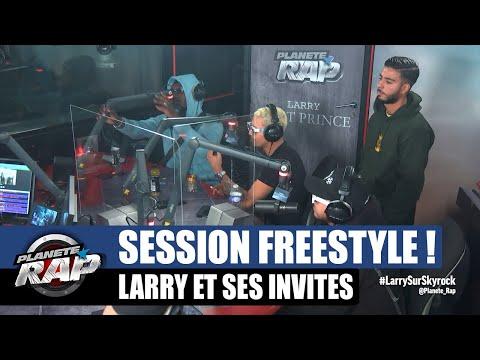 Youtube: Larry – Session freestyle avec Hamza, L'irlandais & Imma! #PlanèteRap
