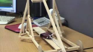 X-tremegeek.com - Wooden Diy Trebuchet
