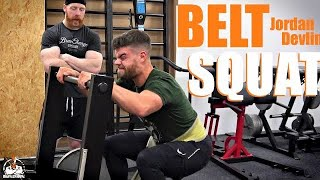 Jordan Devlin Belt Squats (ACE!)
