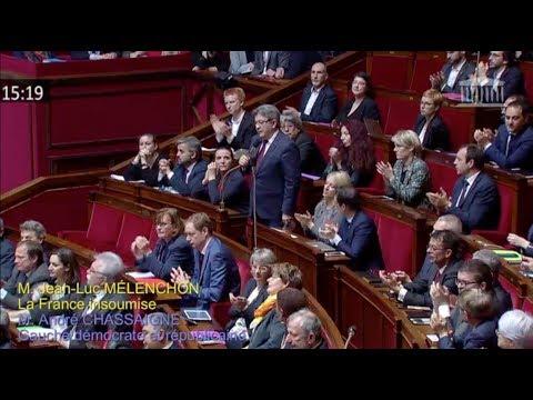 ARNAUD BELTRAME, HÉROS DE LA CONDITION HUMAINE - Mélenchon