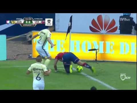 America Vs Veracruz Clausura 2017 Partido Completo Jornada 4 Youtube