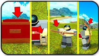 New Adurite Chest And New Items Slingshots Bows And Crossbows Roblox Booga Booga
