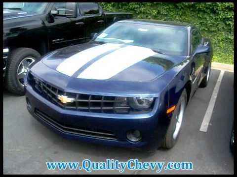 2012 Camaro 1LS Imperial Blue Metallic - YouTube