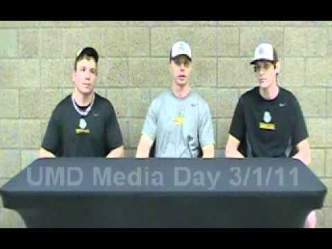 University of Minnesota Duluth Baseball Media Day Press Conference 3/1/11 Part Two
