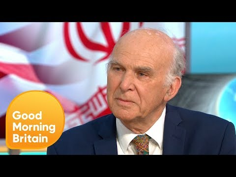 Vince Cable Is Wary of Iran and Israel Conflict | Good Morning Britain