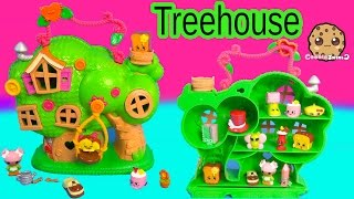 Lalaloopsy Treehouse Playset & Shopkins Season 3 12 Pack Unboxing Toy Review Video Cookieswirlc
