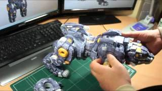 papercraft  ZOIDS-VOLTRON  1st KIT