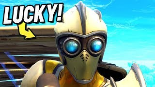 *LUCKIEST* Man Alive! (Fortnite Battle Royale Gameplay)