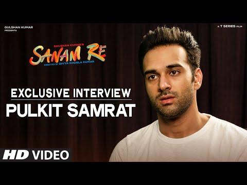 SANAM RE EXclusive : Pulkit Samrat Interview | T-Series