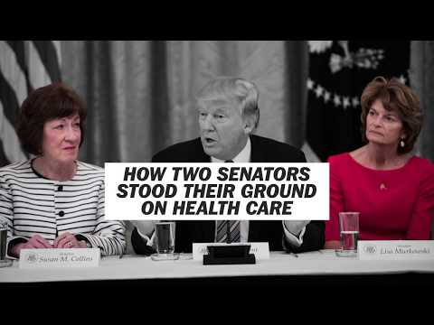 How two female Republican senators stood their ground and shaped the health-care debate