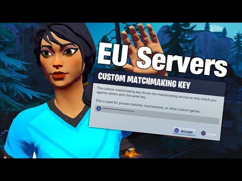 new custom matchmaking key fortnite