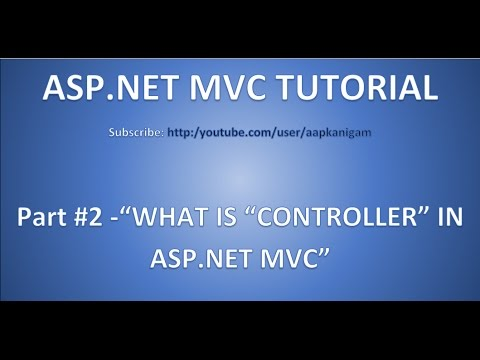 Part 2 - CONTROLLER in Asp.net MVC | Role of Routing in MVC