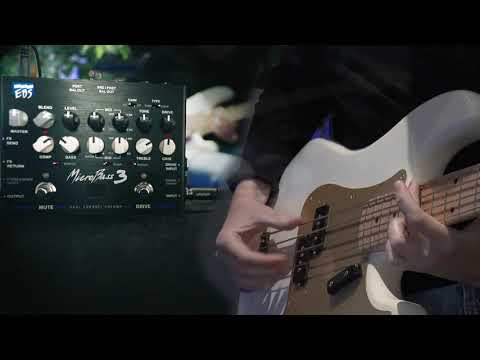 EBS MicroBass 3 - sound samples by Samuel Nilsson
