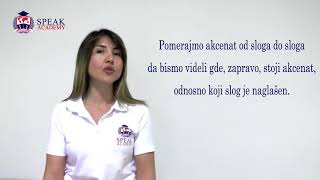 Serbian Lesson 2.1 - Accents -  Serbian language courses