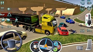 Euro Truck Driver 2018 #18 TRAFFIC FAIL! - New Truck Game Android gameplay