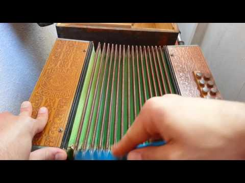 80 years old Hohner accordion ASMR Video
