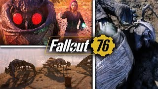 Fallout 76 - Secrets & Easter Eggs - Hidden Catapult, Mothman Cult, Breaking Bad, Final Pam, & More!