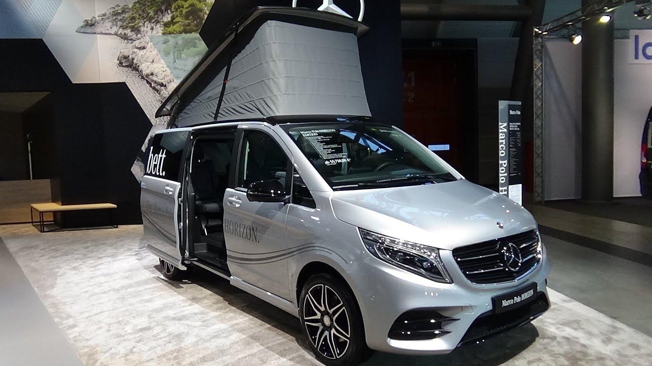 Mercedes Marco Polo >> 2018 Mercedes Benz Marco Polo Horizon Amg Line Exterior Interior