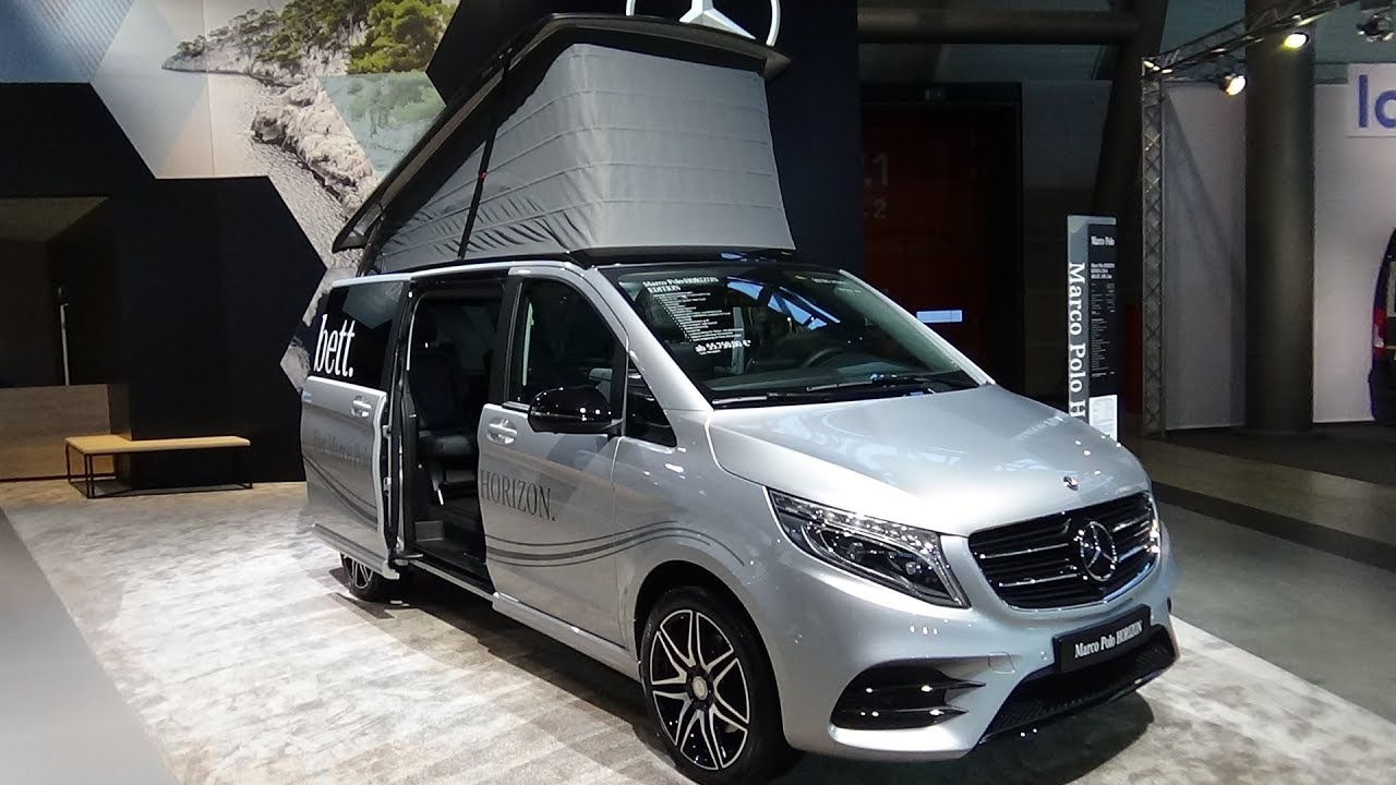 2018 mercedes benz marco polo horizon amg line exterior interior caravan show cmt stuttgart. Black Bedroom Furniture Sets. Home Design Ideas