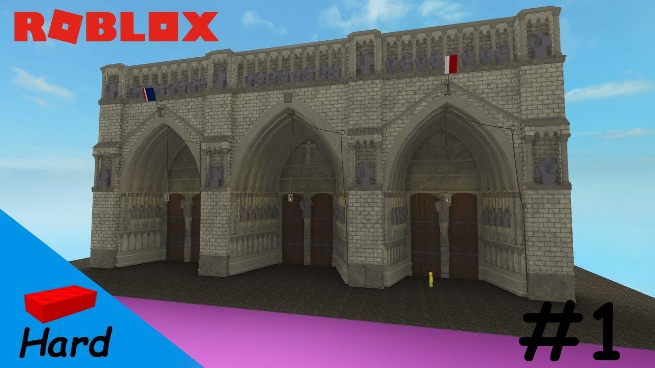 Roblox Studio Speed Build Notre Dame 1 Youtube