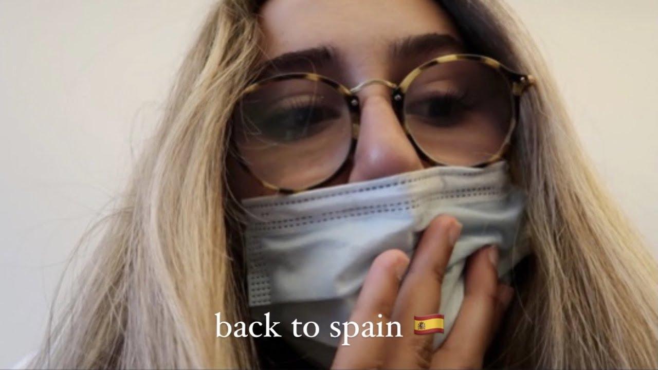 vuelvo a españa después de 5 meses :( || Nieves Quevedo