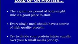 Muscle Building Nutrition - Part 1 A