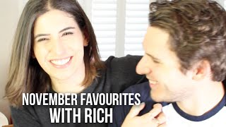 November Monthly Favourites with Rich | Lily Pebbles