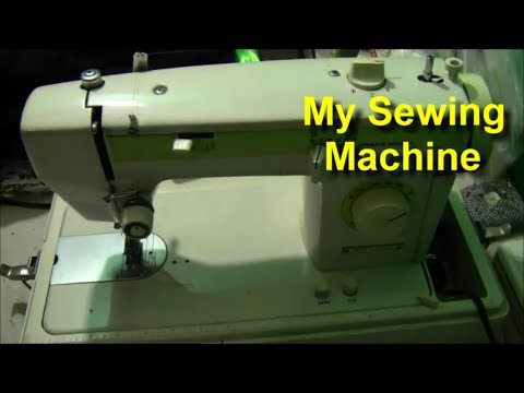 My Nelco Sewing Machine YouTube Magnificent How To Thread A Vintage Nelco Sewing Machine