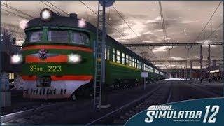 Заводим электричку в игре Trainz Simulator 2012