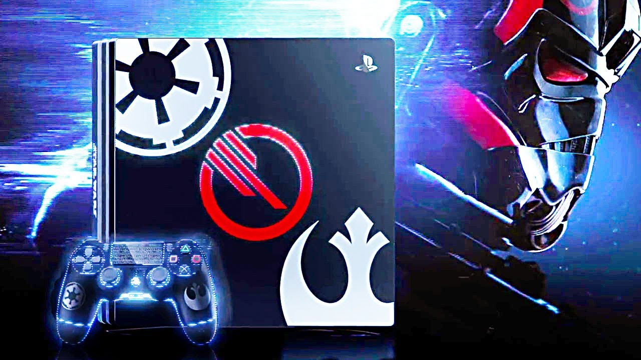 nouvelle console ps4 star wars battlefront 2 youtube. Black Bedroom Furniture Sets. Home Design Ideas