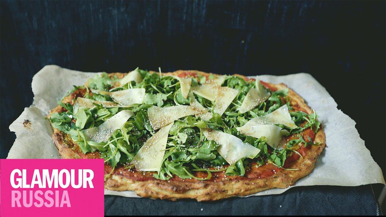 тесто для пиццы из цветной капусты