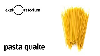 Pasta Quake | Science Snack Activity