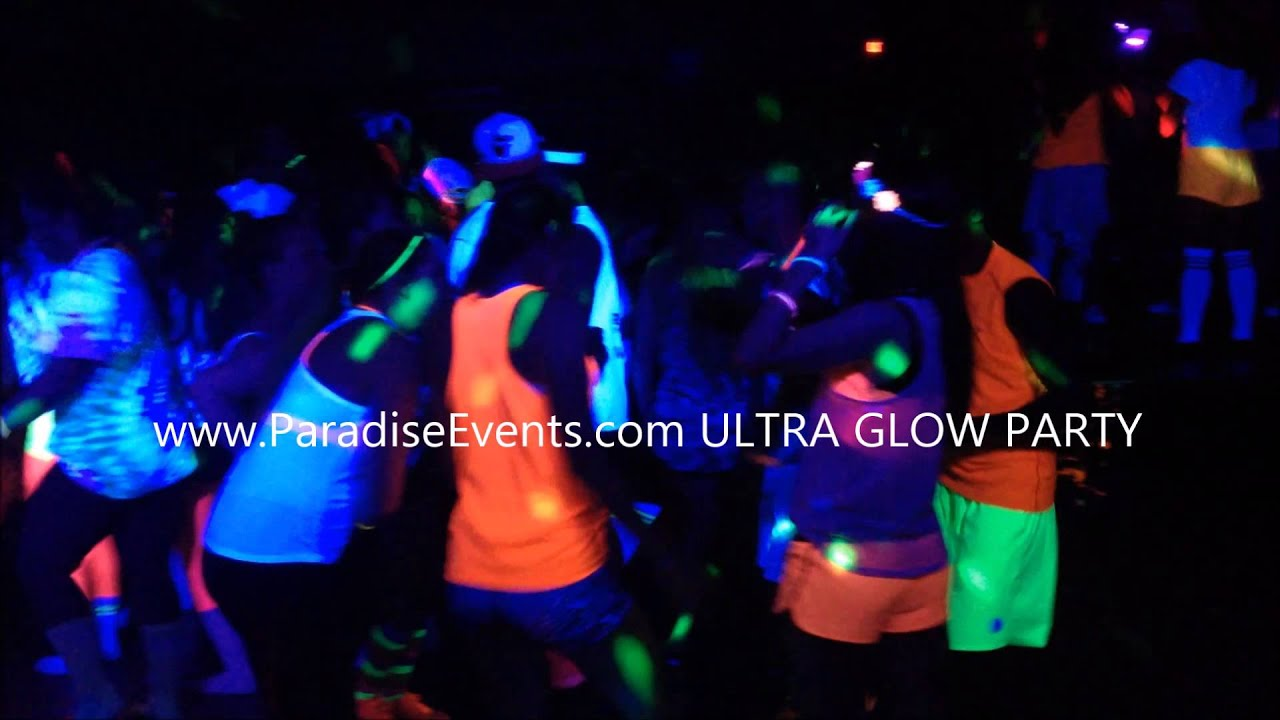 to guide light glow party the food decor ideas favors how glowing ultimate blacklight black lighting throw a