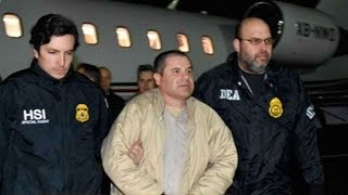 Notorious Mexican drug lord 'El Chapo' faces judge in New York