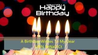 BirThDay Wish To Sibin Benadict........
