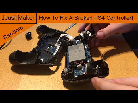 How To Fix A Broken PS4 Controller!