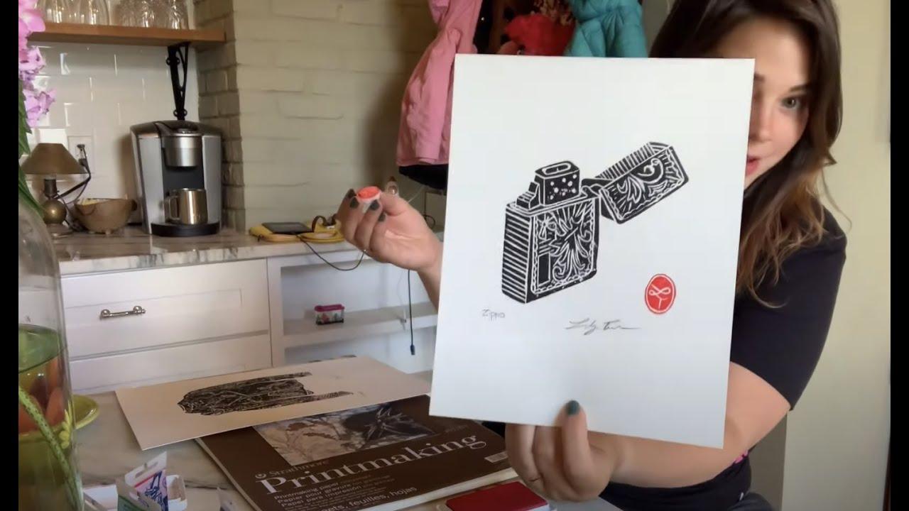 ASMR Printmaking!