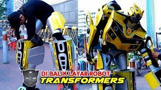 KEREENN!!! Begini Cara Pakai Kostum Robot Transformers