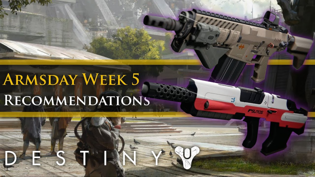 Destiny best armsday weapon recommendations 14th of october 2015
